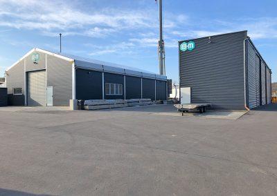 Poly Pool – Produktionshallen am Standort Deutschland